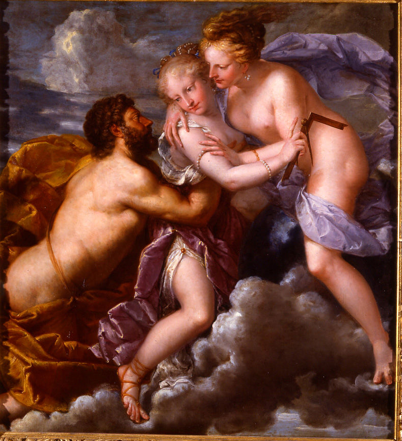 Logic between Vice and Virtue, Pietro Liberi (1605-1687).