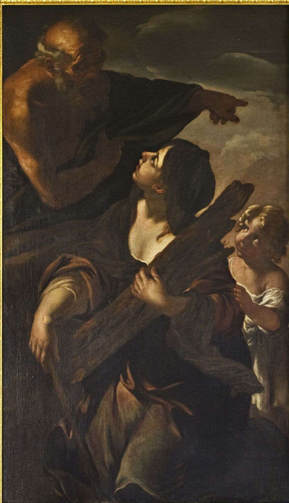 Elijah and the Widow, Giacinto Brandi (1621-1691).