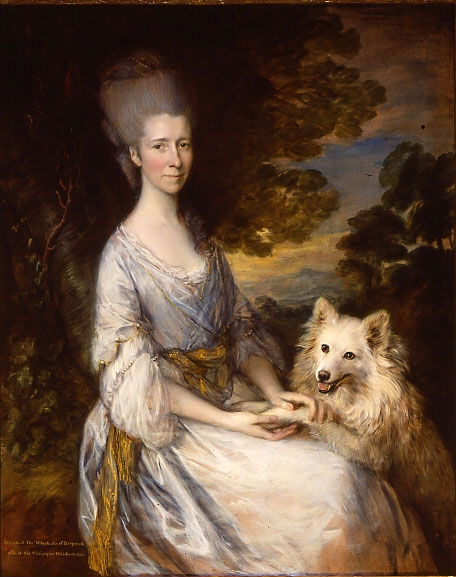Portrait of Jane, Lady Whichcote, Thomas Gainsborough, R.A. (1727-1788).