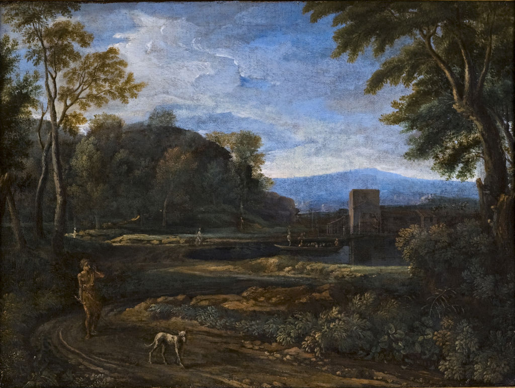 A Landscape with a Lake, Gaspard Dughet (1615-1675).
