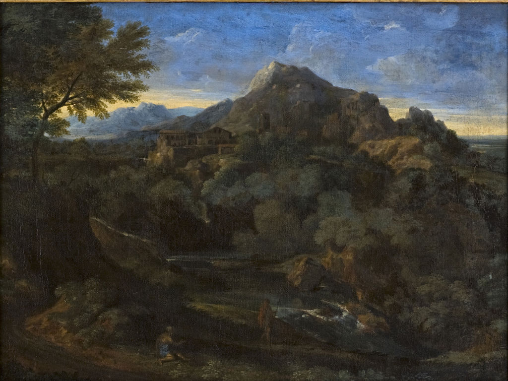 A Landscape with Mountains, Gaspard Dughet (1615-1675).