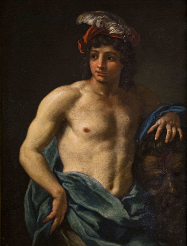 David with the Head of Goliath, Attributed to Baldassare Franceschini (1611-1689).