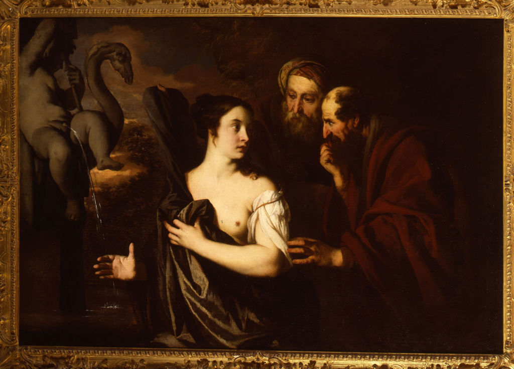 Susannah and the Elders, Sir Peter Lely (1618-1680).