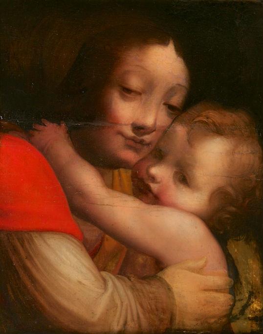 The Virgin and Child, Italian, c.1600, After Francesco Avanzi.