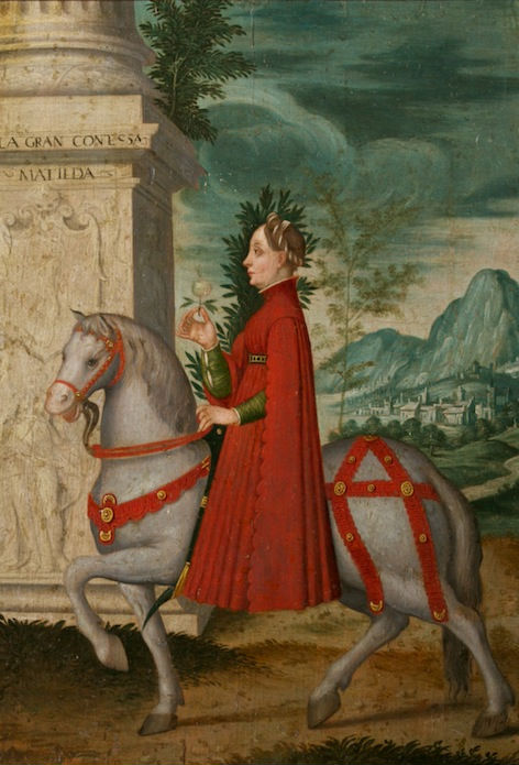 Countess Matilda Riding a Horse, Italian School, 18th Century.