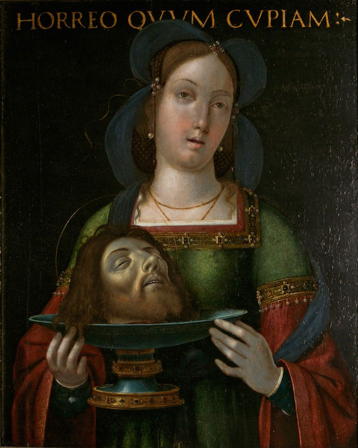 Salome with the Head of St. John the Baptist, Flemish School, 16th Century.