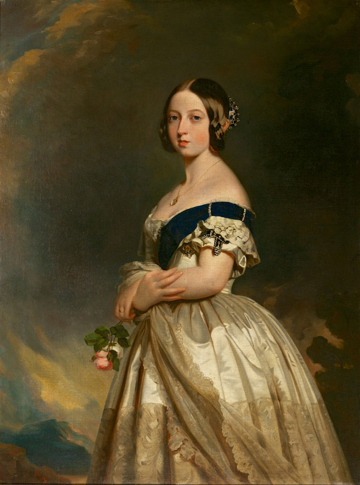 Queen Victoria, After Franz Xavier Winterhalter (1805-1873).