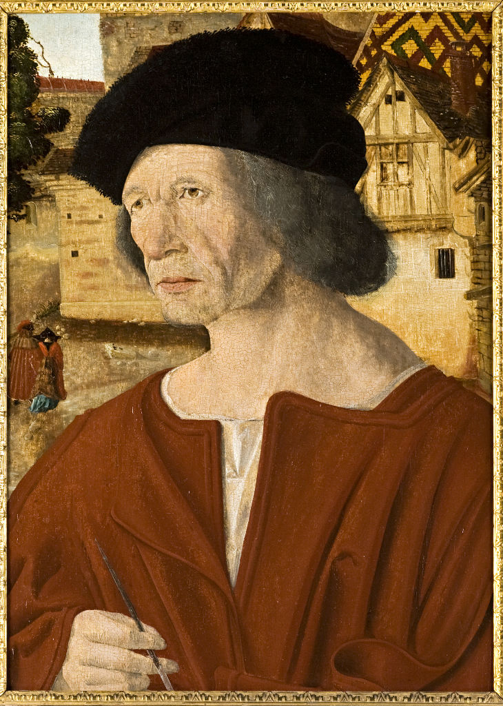 Portrait of a Man, Netherlandish School, early 16th Century.