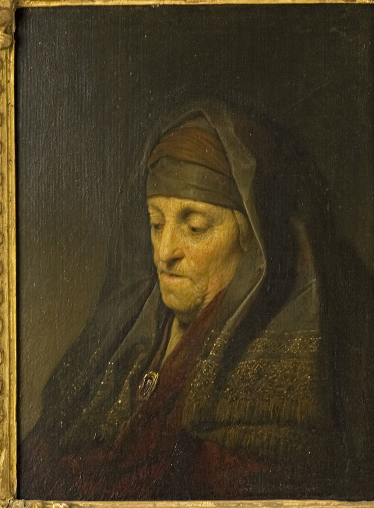 Portrait of Rembrandt's Mother, Jan Lievens 1607-1674).