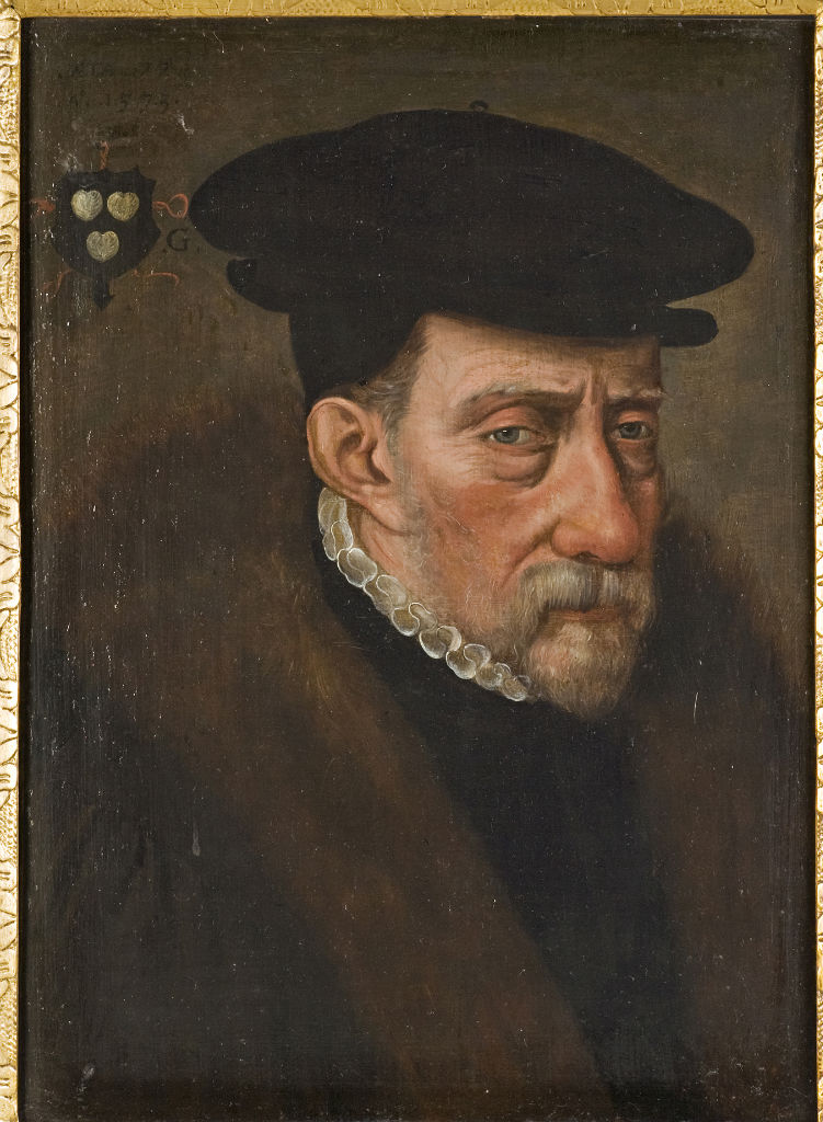 Portrait of a Man, The Monogrammist H.V.B.