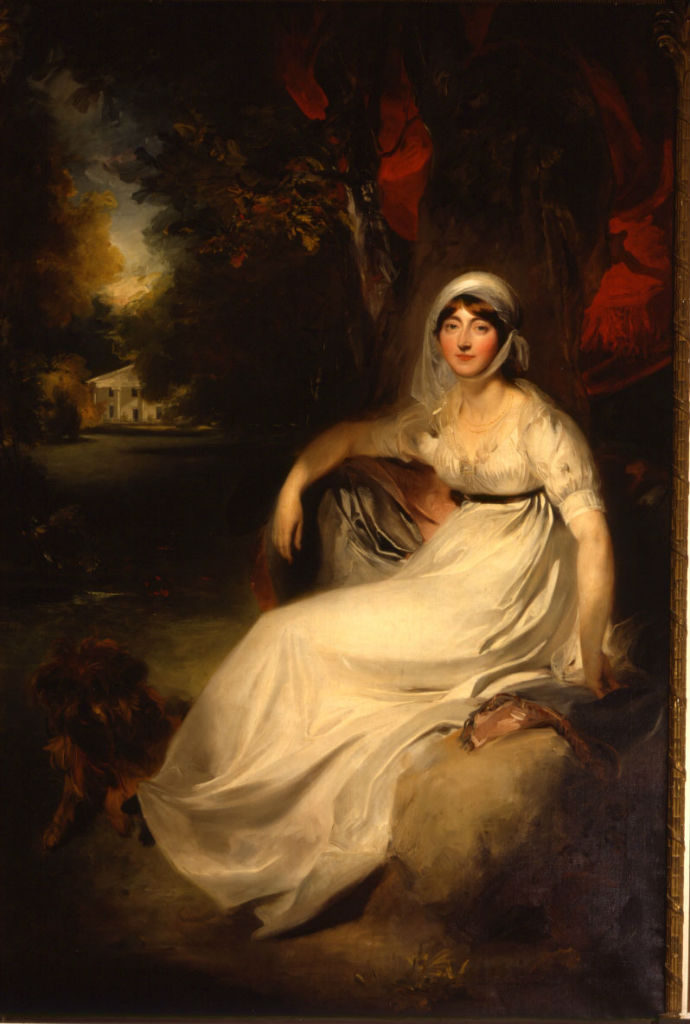 Portrait of Elizabeth Burrell, Marchioness of Exeter, Sir Thomas Lawrence, P.R.A. (1769-1830).