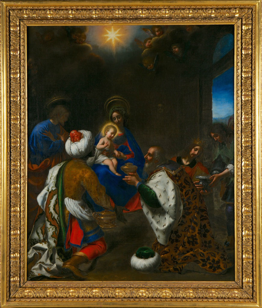 The Adoration of the Magi, Carlo Dolci (1616-1686).