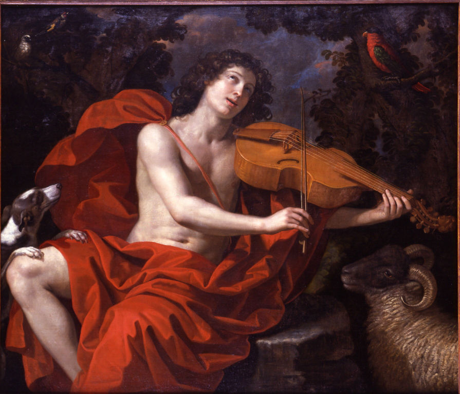Orpheus Playing to the Animals, Benedetto Gennari (1633-1715).