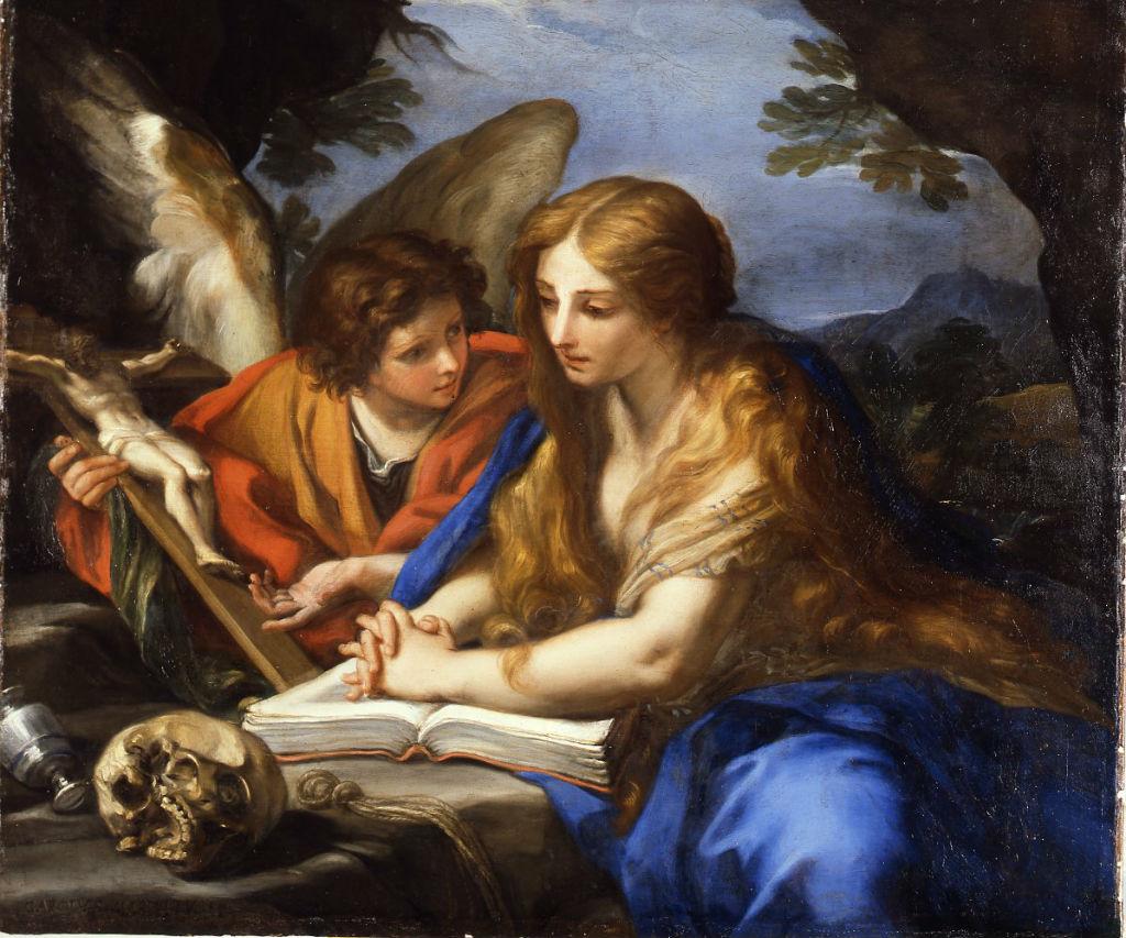 The Penitent Magdalene, Carlo Maratta (1625-1713).