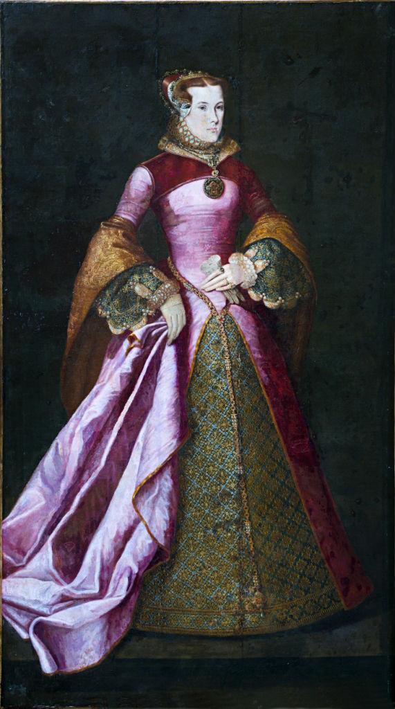 Magdalen, Viscountess Montague (1538-1608), Manner of Antonis Mor (1517-1577).