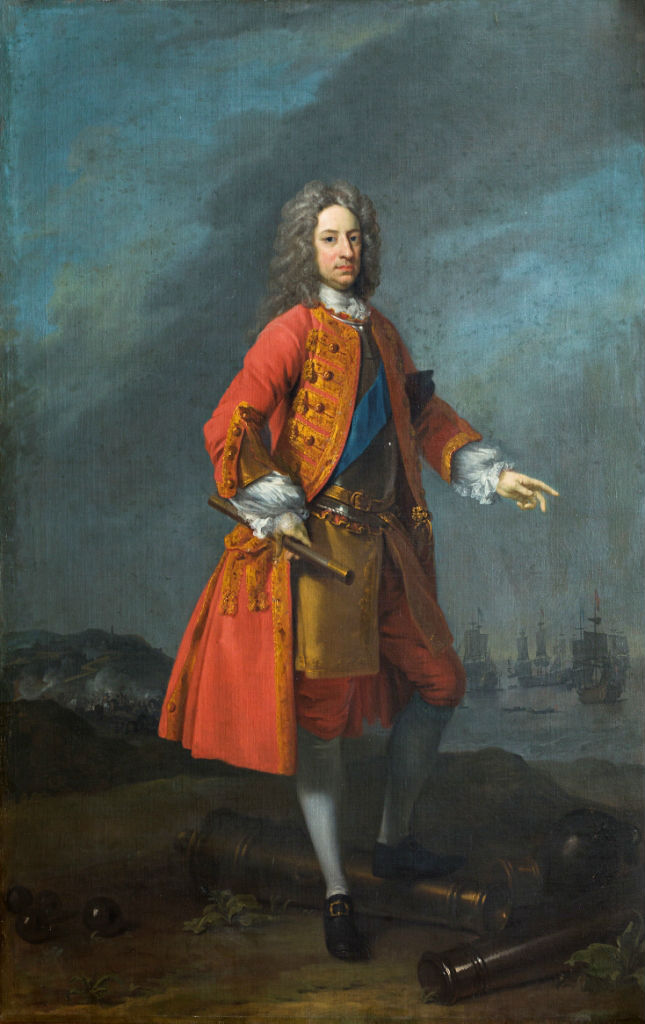 Charles Mordaunt, 3rd Earl of Peterborough (1658- 1735)by Charles Jervas (c. 1675-1739).
