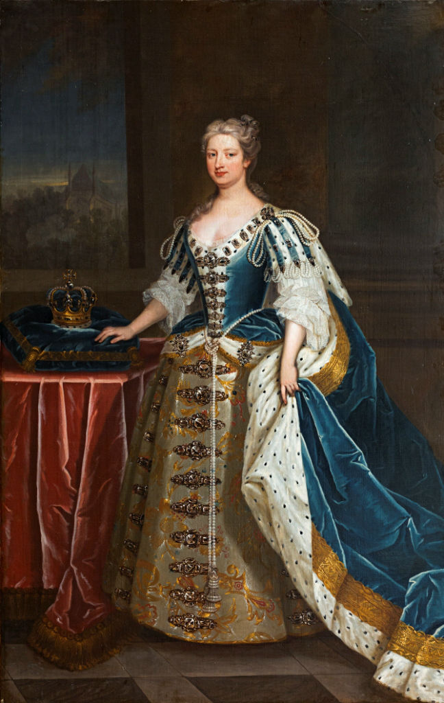 Queen Caroline (1683-1737), Studio of Charles Jervas (c.1675-1739).