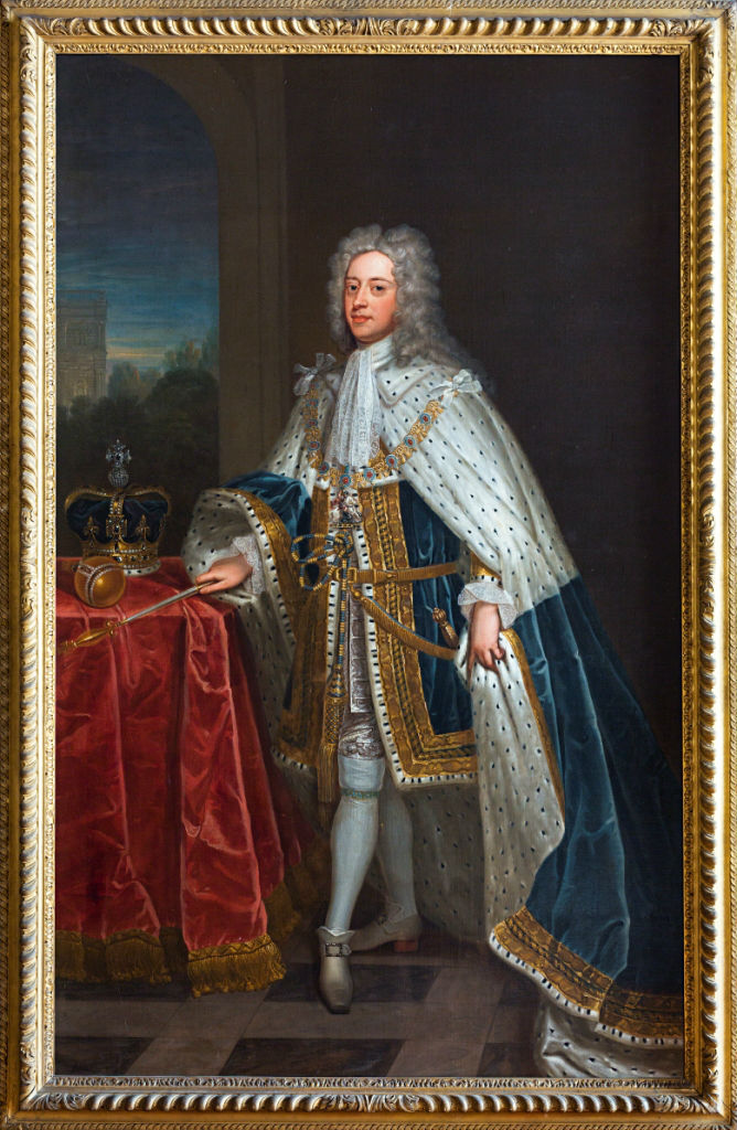 King George II (1683-1760), Studio of Charles Jervas (c.1675-1739).