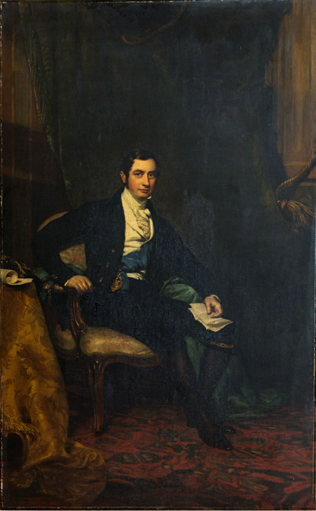 Brownlow, 2nd Marquess of Exeter (1795-1867) by James Sant, R.A. (1820-1916).
