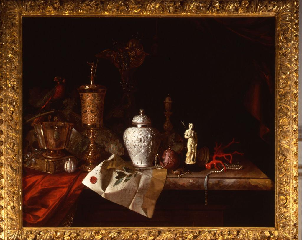 A Still Life by Pieter Gerritsz. van Roestraeten (1629-1700).