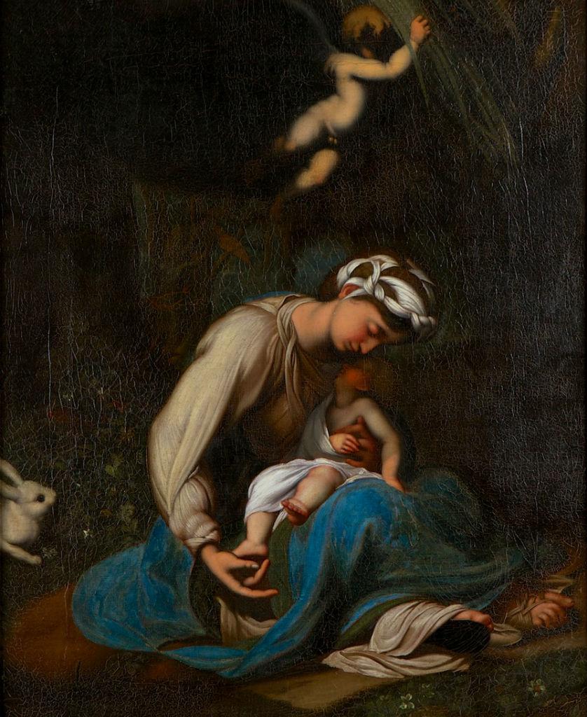The Virgin and Child (La Zingarella) after Antonio Allegri, Il Correggio (1489-1534).