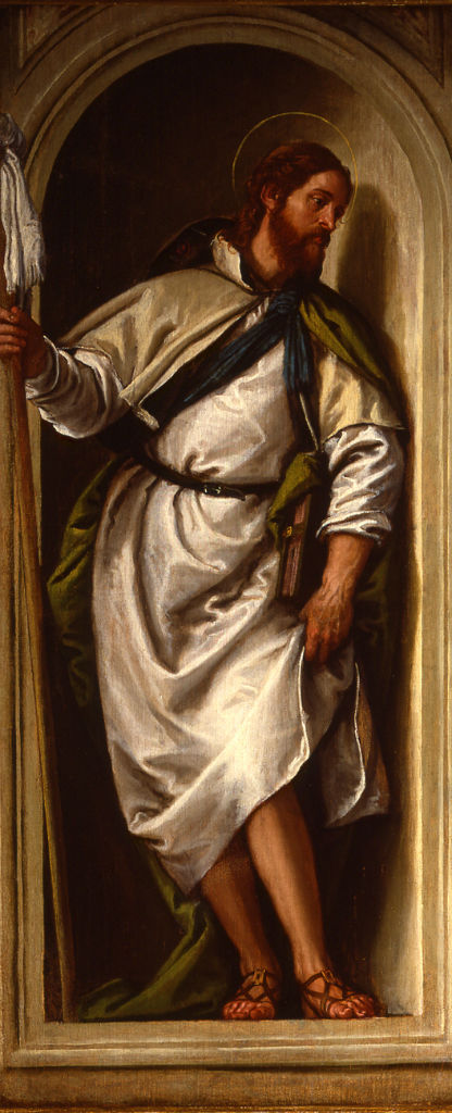 St. James the Great by Paolo Caliari, called Il Veronese (1528-1588) .