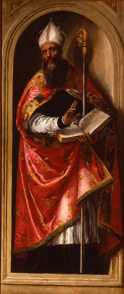 St Augustine by Paolo Caliari, called Il Veronese (1528-1588).