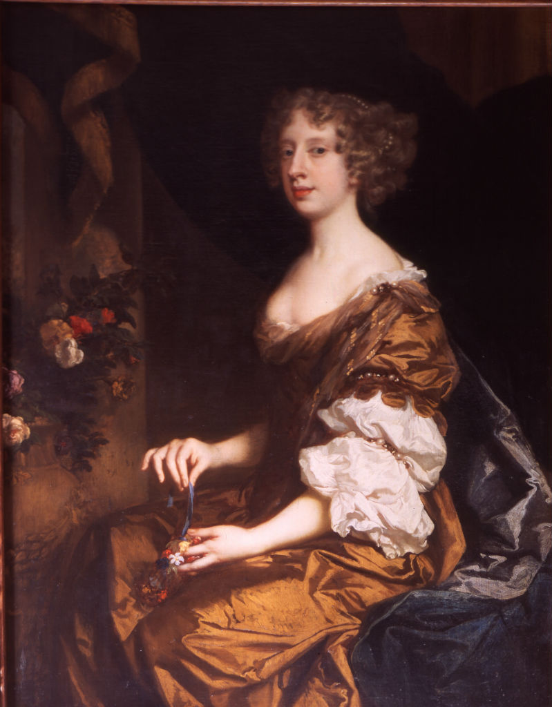 Anne, Countess of Exeter (1649-1703) by Sir Peter Lely (1618-1680).