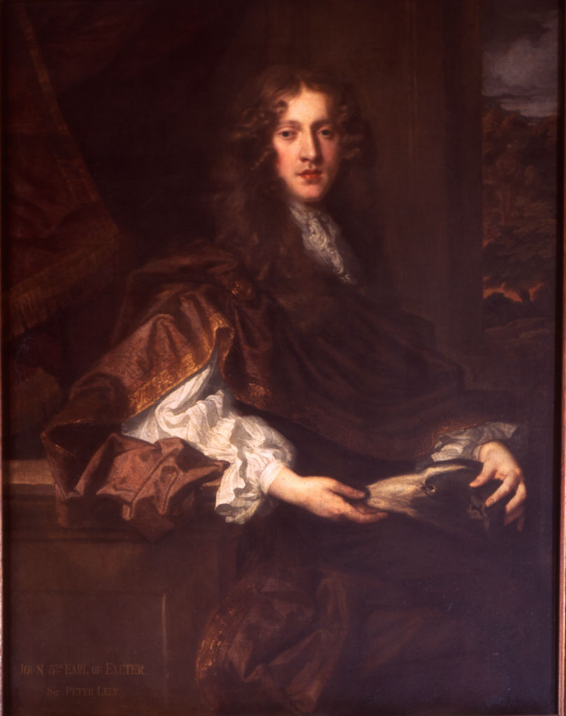 John, 5th Earl of Exeter (1648-1700) by Sir Peter Lely (1618-1680).