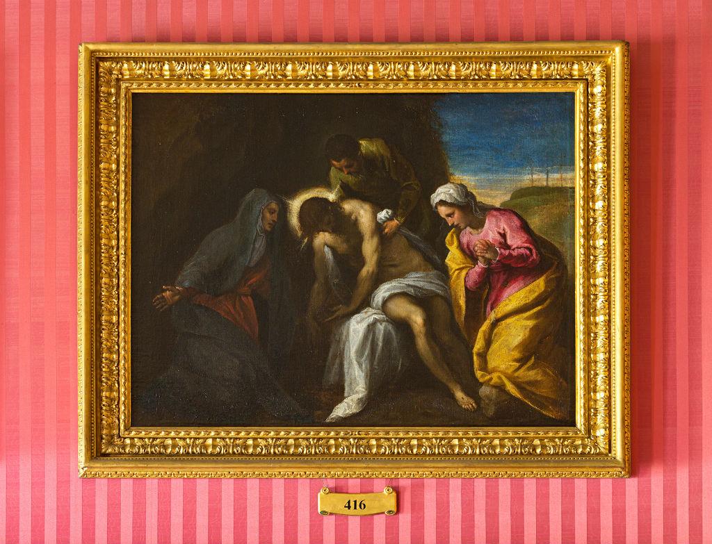 The Pieta by Jacopo Negretti, Palma Il Giovane (1544-1628).