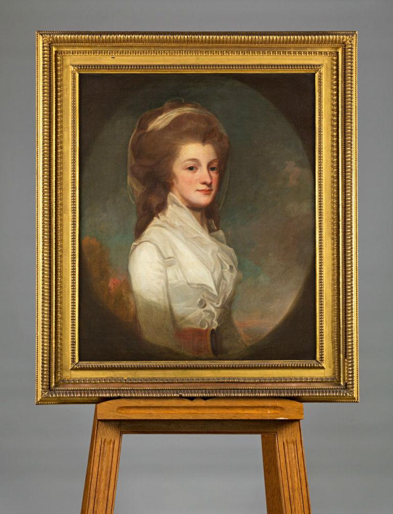 Sophia Pelham by George Romney (1734-1802).