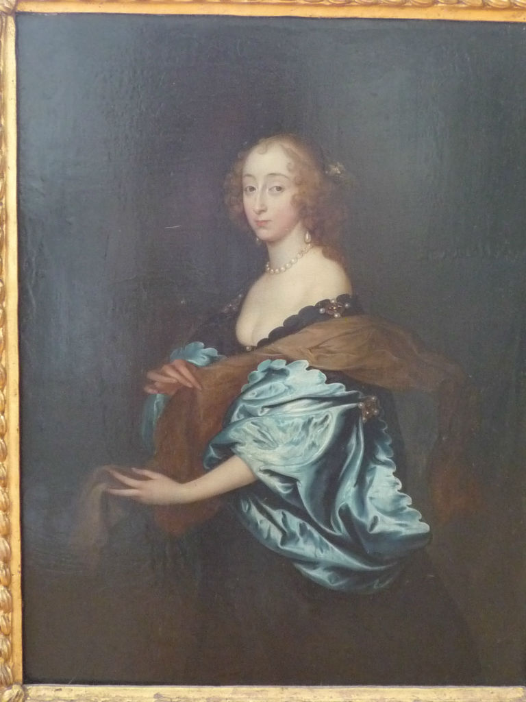 Penelope, Lady Herbert by Joan Carlisle (1606-1679), after Sir Anthony van Dyck (1599-1641).