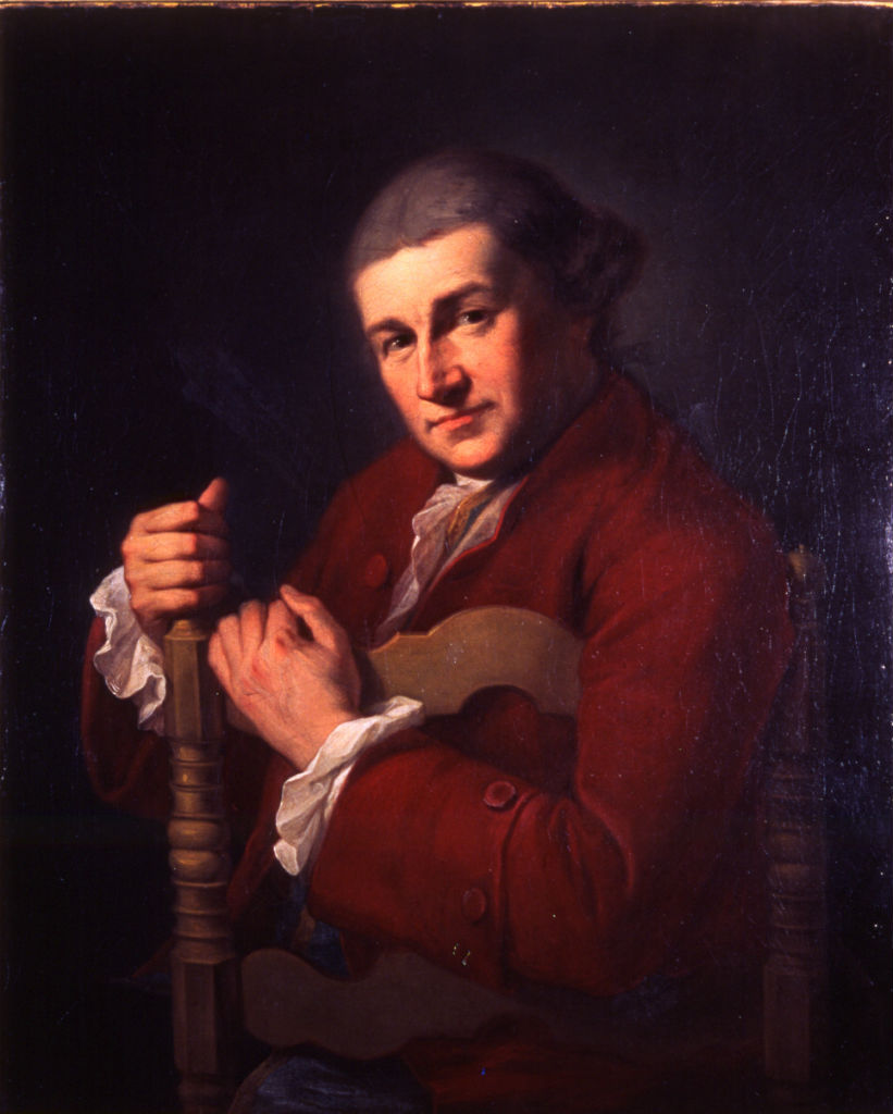 David Garrick (1717-1779) by Angelica Kauffman, R.A. (1741-1807).