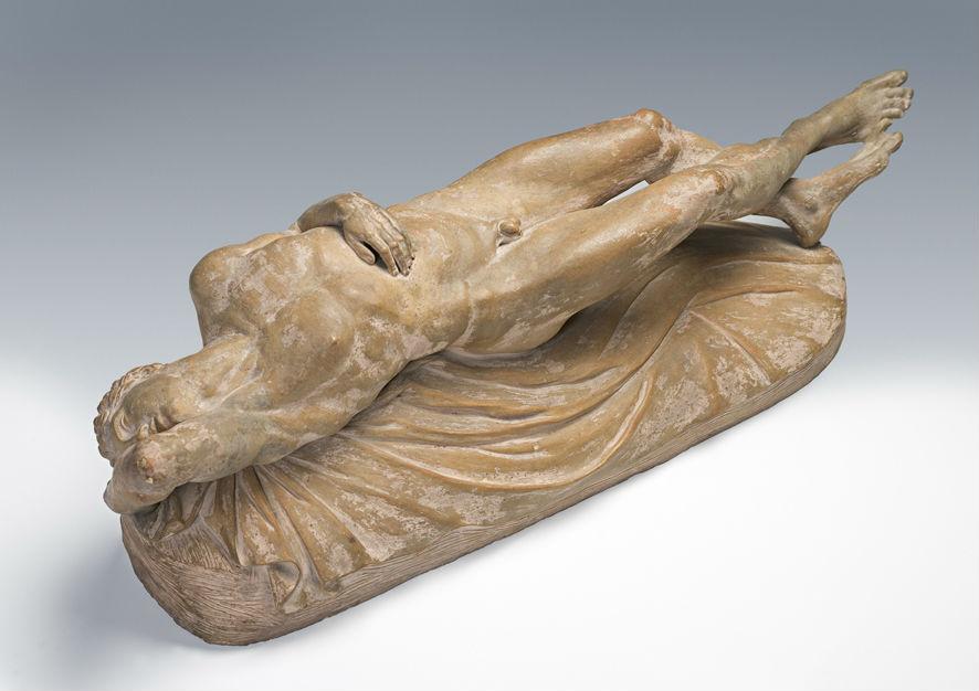 An 18th Century Italian terracotta figure.