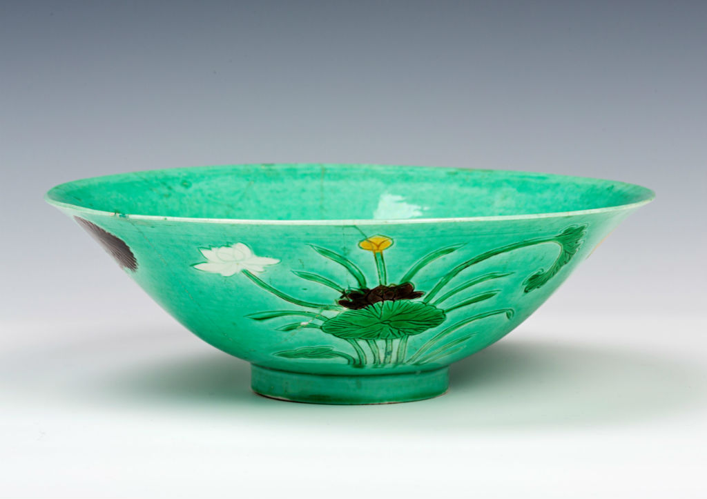 A flared bowl, Chinese, Kangxi (1662-1722).