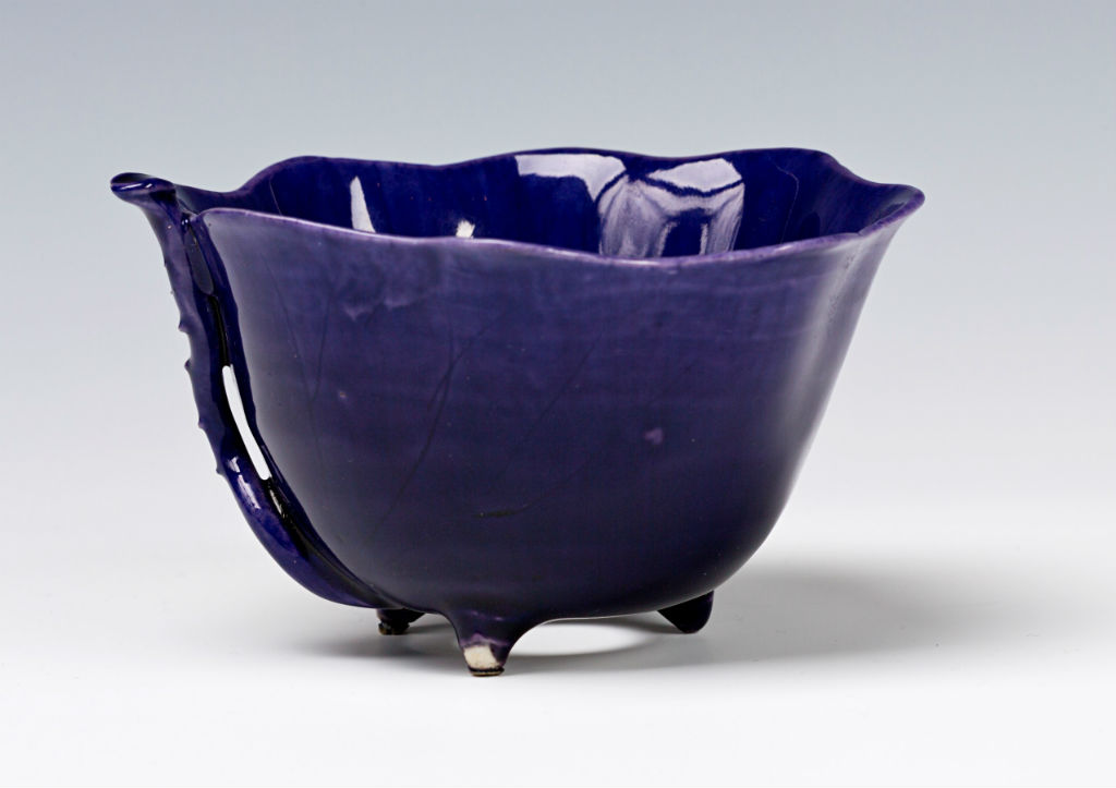 A pair of purple-glazed bowls, Chinese, late Ming/early Qing, mid 17th Century.