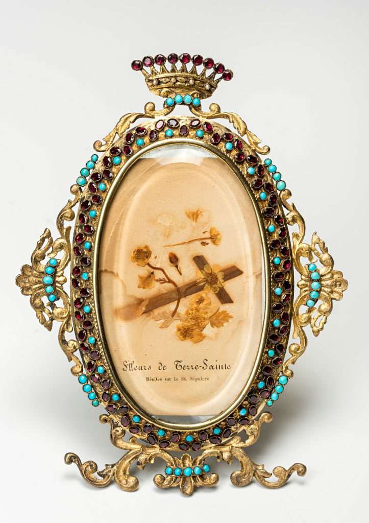 An Austro-Hungarian photograph frame, late 19th Century.