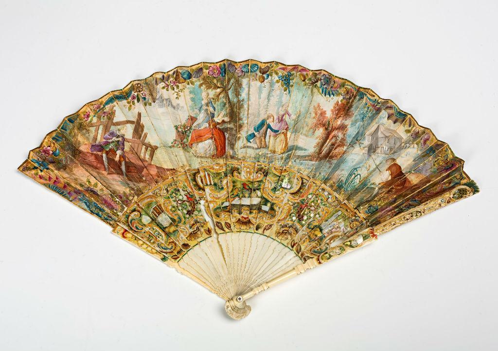 A 19th Century fan.