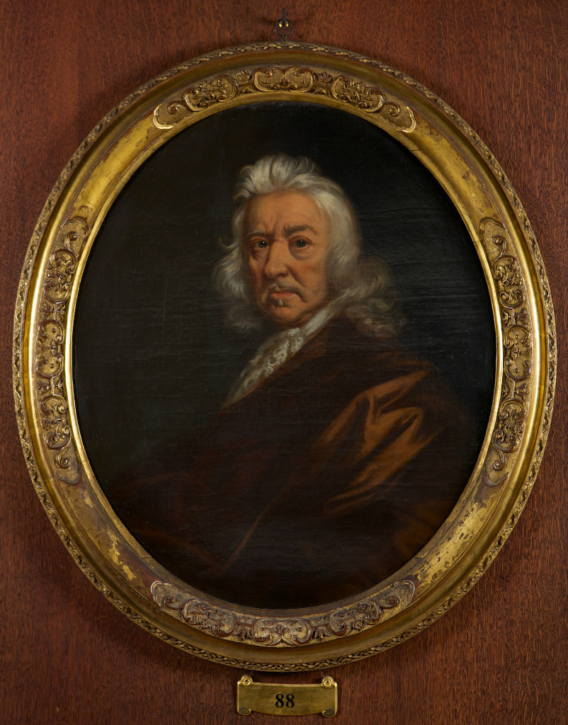 Portrait of Thomas Hobbes, Circle of Isaac Fuller.