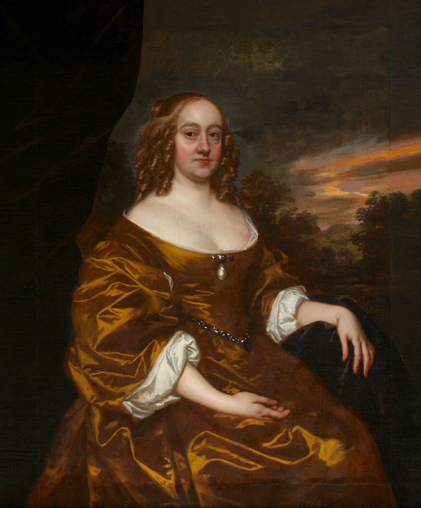 Portrait of Catherine Howard, Countess of Salisbury, Sir Peter Lely (1618-1680).