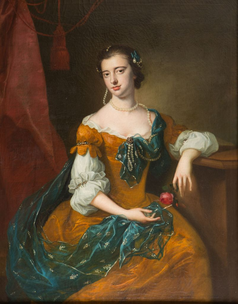 Portrait of Lady Anne Cecil, Attributed to Enoch Seeman (1694-1745).