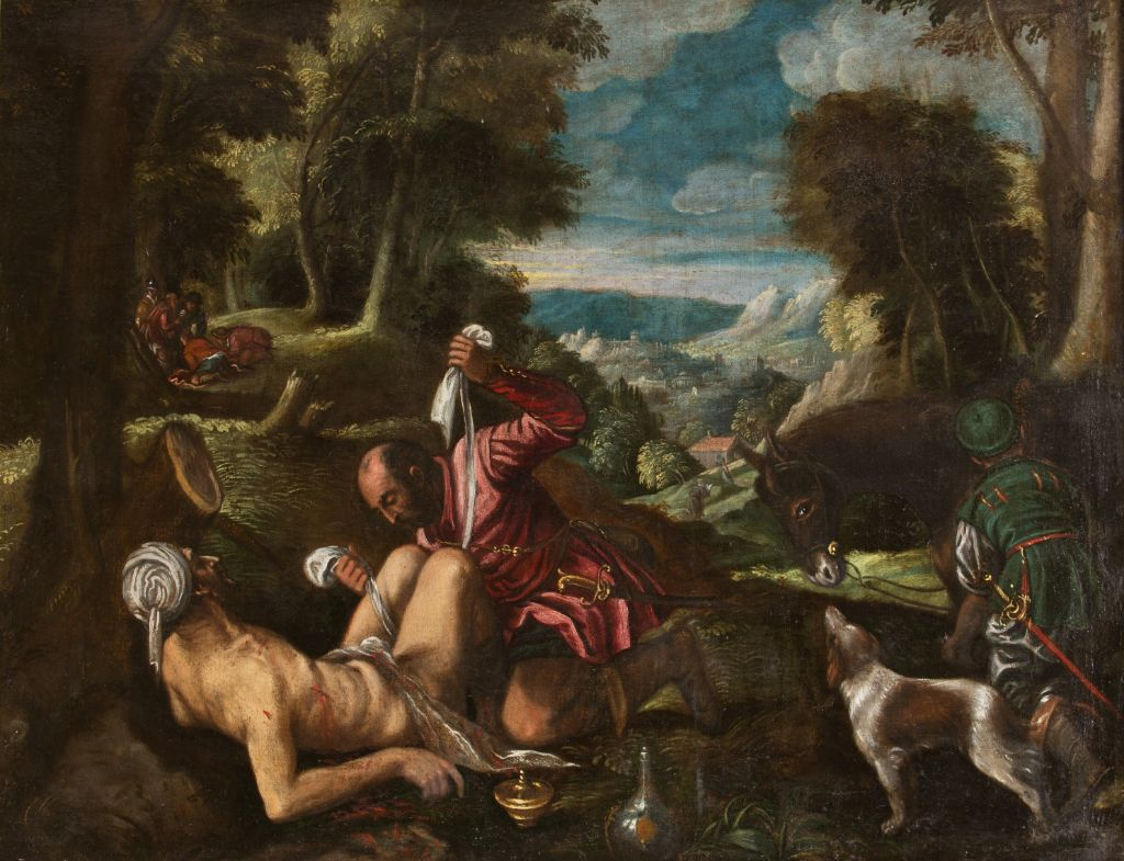 The Good Samaritan, Follower of The Bassano.