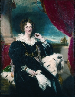 Portrait of Isabella Poyntz, Marchioness of Exeter, by Sir Thomas Lawrence, P.R.A. (1769-1830) and Sir Martin Archer Shee, P.R.A. (1769-1850).