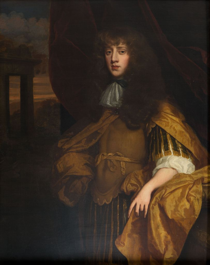 Portrait of William Cecil, Lord Roos, Studio of Sir Peter Lely (1618-1680).