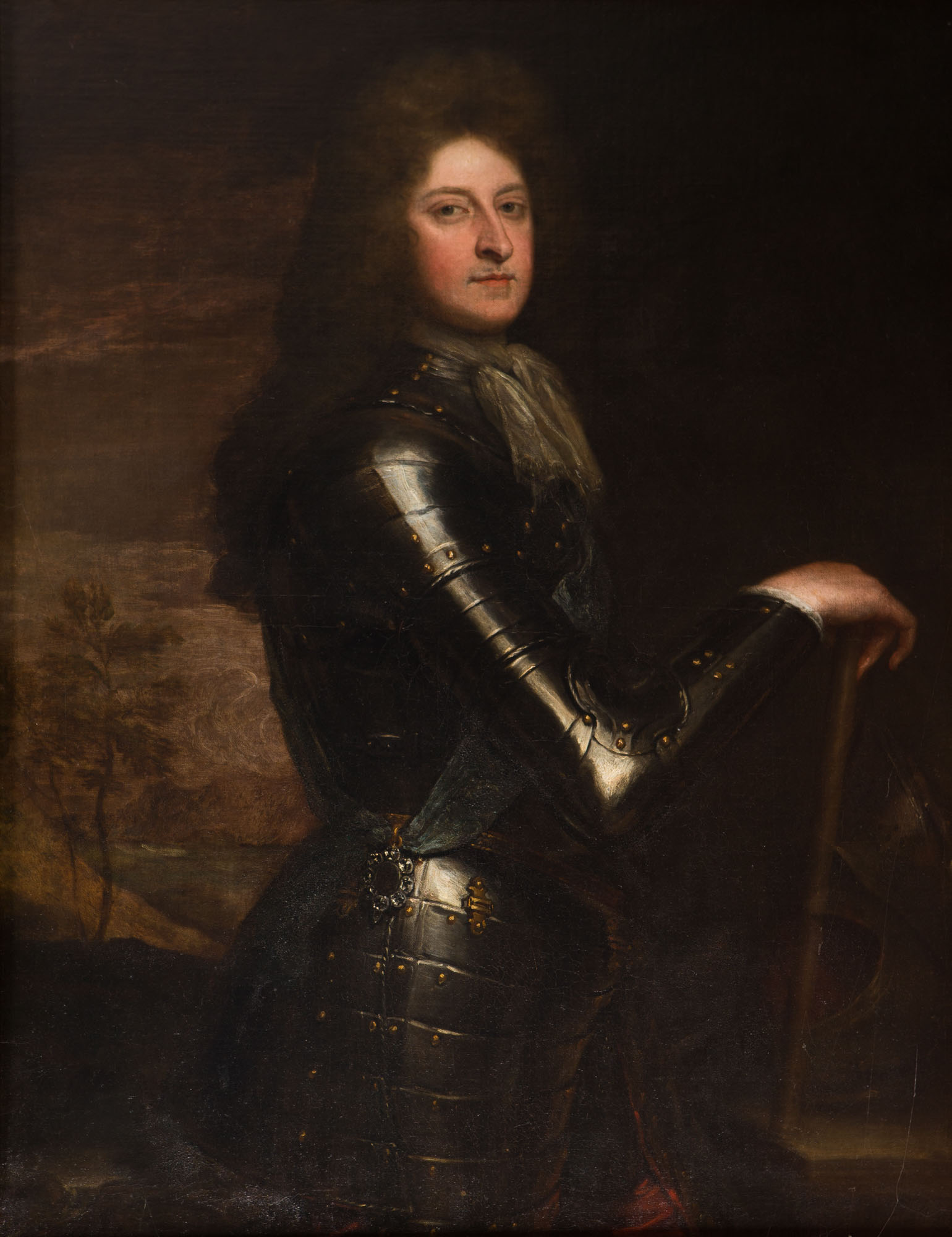 Portrait of William Cavendish, 1st Duke of Devonshire, by Sir Godfrey Kneller (1646-1723).