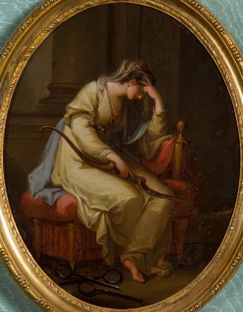 Penelope Lamenting the Absence of Ulysses, by Angelica Kauffmann, R.A. (1741-1807).