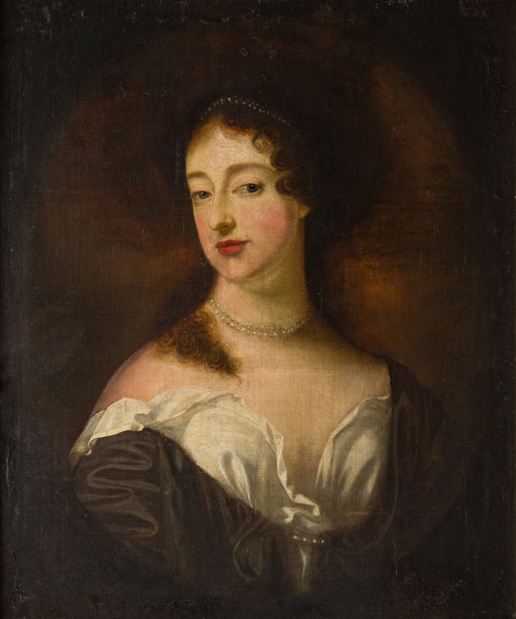 Portrait of a Lady, Circle of Sir Godfrey Kneller (1646-1723).