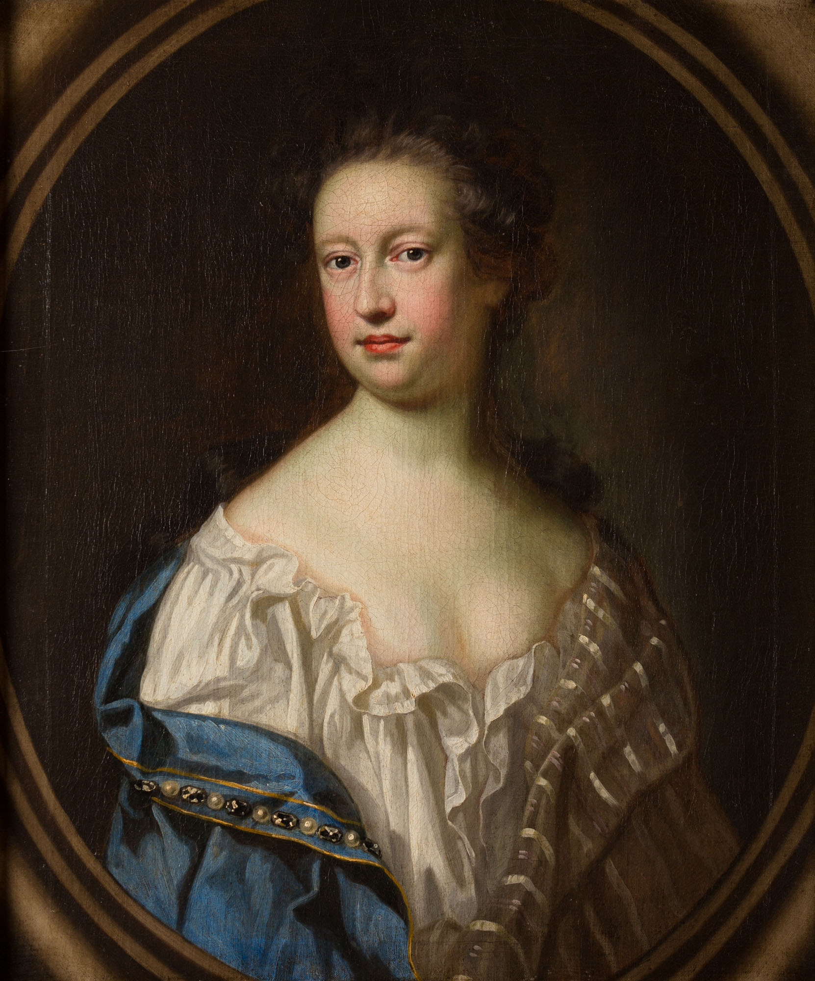 Portrait of a Lady, Attributed to Thomas Murray (1663-1735).