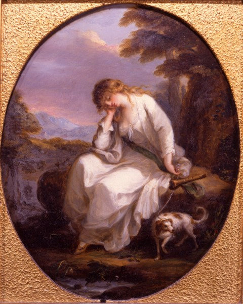 'Maria' from Sterne, by Angelica Kauffmann, R.A. (1741-1807).