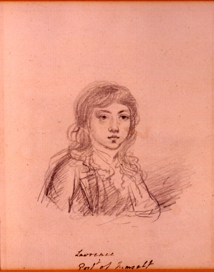 A Self Portrait, by Sir Thomas Lawrence, P.R.A. (1769-1830).